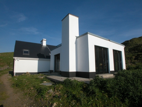 Rear Extension & refurbishment to Ballycastle Cottage