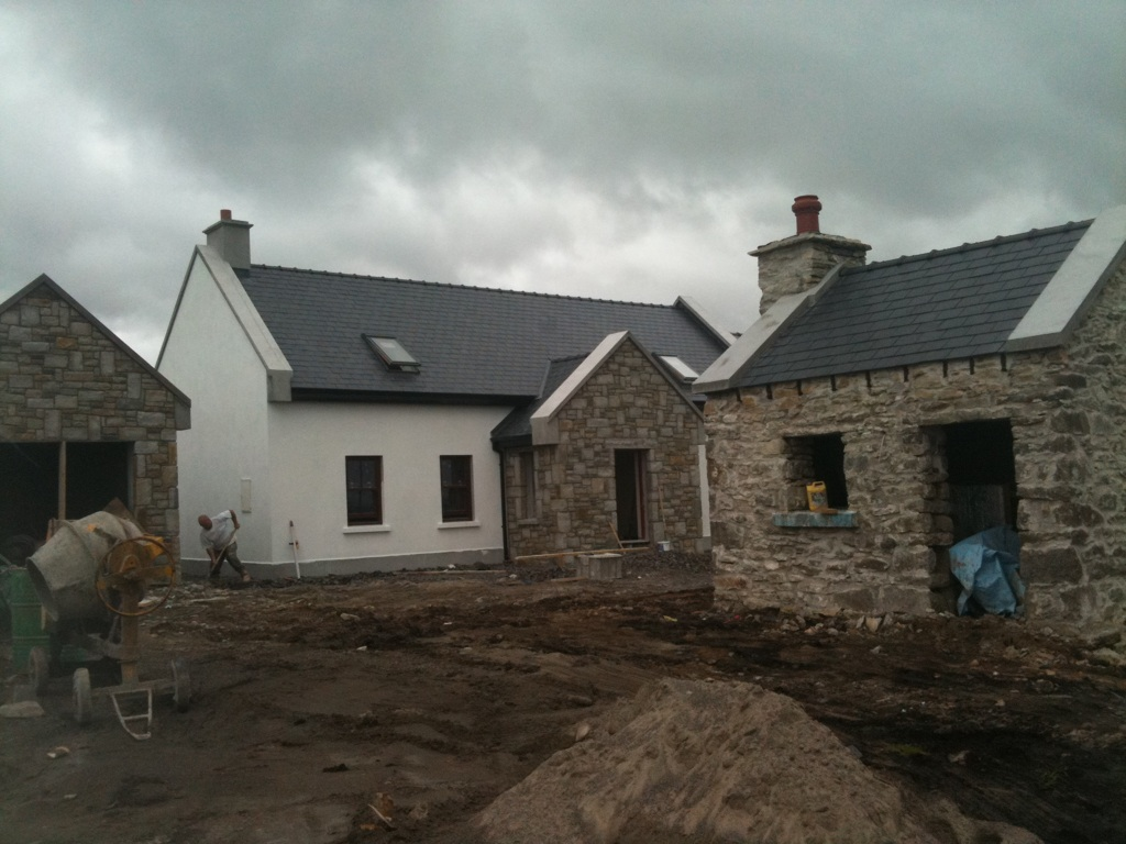 Traditional irish house designs home design and style Small cottage renovation ideas