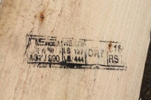 Timber stamp