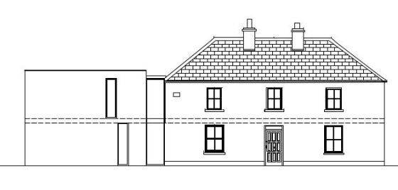 Front Elevation Planning Permission : The process mark stephens architects