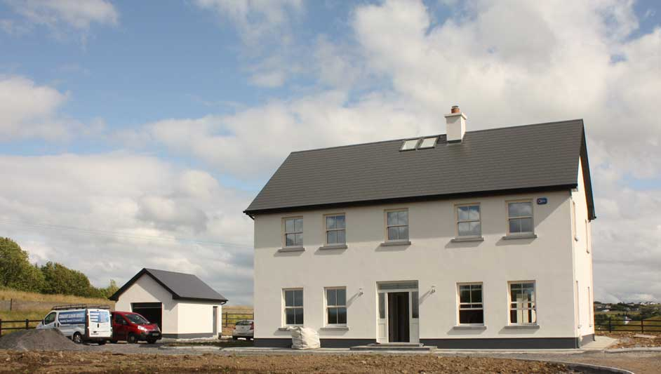 2 Storey courtyard connected house in County Mayo, Ireland ...